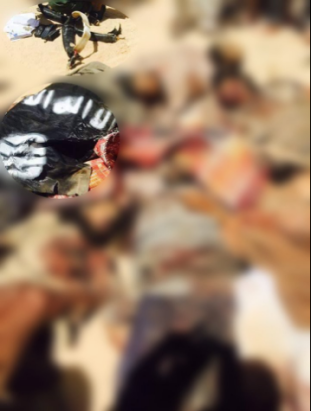 Alleged photos of killed IS fighters. Source: @MENASTREAM